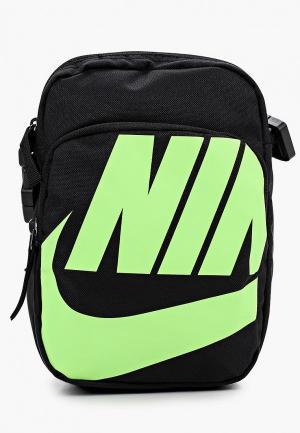 Сумка Nike NK HERITAGE SMIT - 2.0 GFX. Цвет: черный