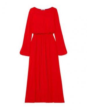 Длинное платье ELIZABETH AND JAMES. Цвет: красный