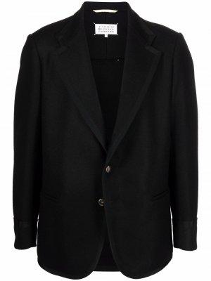 Пиджак с карманами Maison Margiela. Цвет: черный