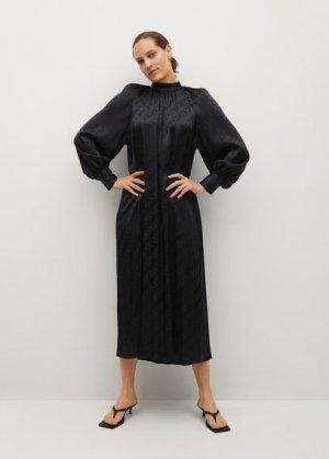 Длинное струящееся платье - Tao-a Mango. Цвет: черный