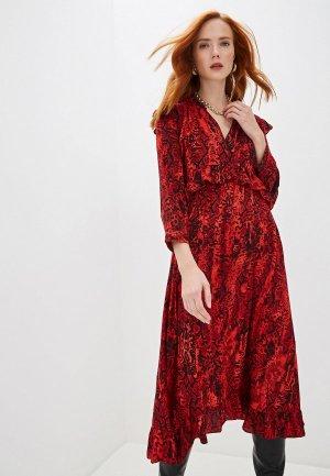 Платье Ba&Sh. Цвет: красный