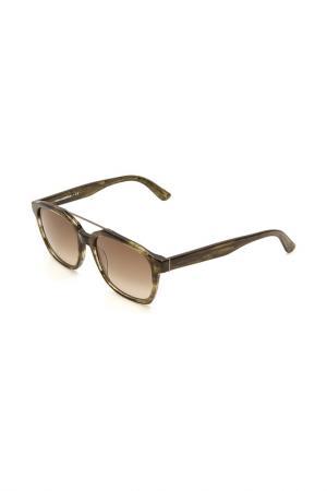 Очки солнцезащитные Karl Lagerfeld. Цвет: 033 хаки