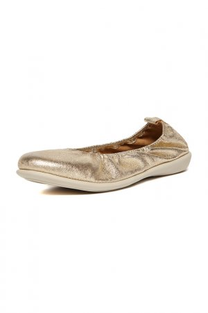 Ballerinas THE FLEXX. Цвет: gold