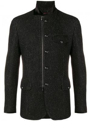 Строгий пиджак John Varvatos. Цвет: черный