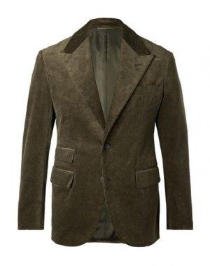Пиджак CAMOSHITA by UNITED ARROWS. Цвет: зеленый-милитари