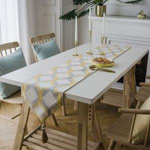 Подстилка для сервировки стола с геометрическим узором SHEIN. Цвет: многоцветный