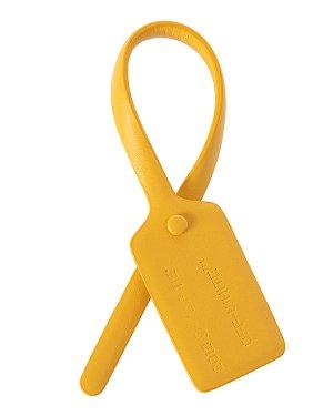 Брелок OWZG017E199900776000 UNI желтый Off-White. Цвет: желтый