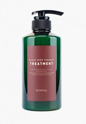 Бальзам для волос Eunyul с маслом черного тмина, 500 мл. Цвет: прозрачный