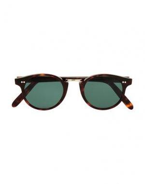 Солнечные очки CUTLER AND GROSS. Цвет: темно-коричневый