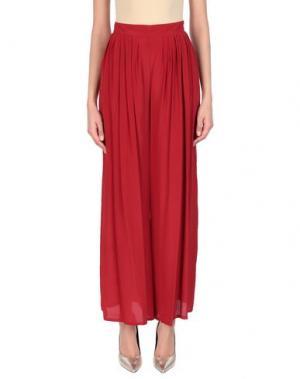 Длинная юбка ATOS LOMBARDINI. Цвет: красный