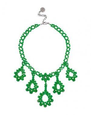Ожерелье BEN-AMUN. Цвет: зеленый