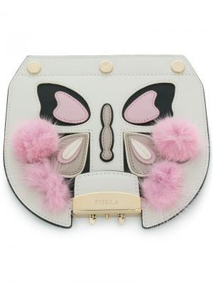 Pom butterfly Metropolis flap Furla