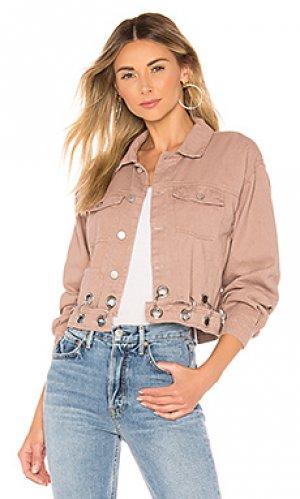 Укороченная джинсовая куртка kylie superdown. Цвет: none
