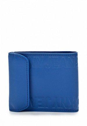 Кошелек DKNY Jeans DK007BMAKH90. Цвет: синий