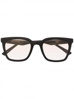 Солнцезащитные очки Momati 01OR Gentle Monster. Цвет: черный