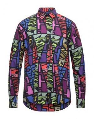 Pубашка CUSTO BARCELONA. Цвет: фиолетовый
