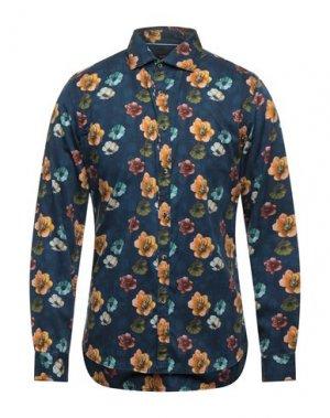 Pубашка CINQUE. Цвет: синий