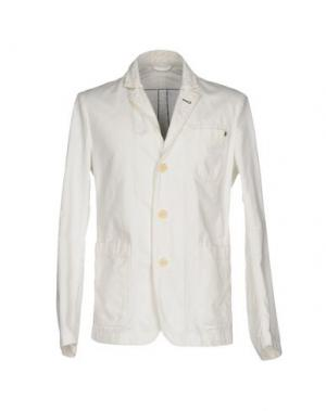 Пиджак PEOPLE LAB.. Цвет: белый