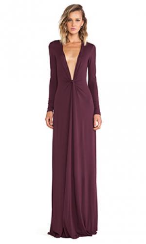 Макси платье cilla Issa. Цвет: вишня