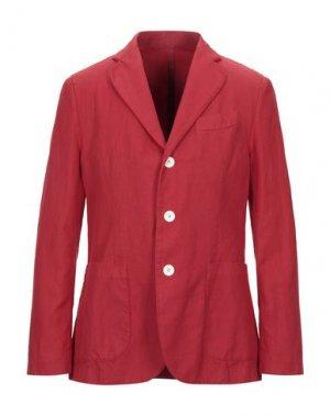 Пиджак DOPPIAA. Цвет: красный