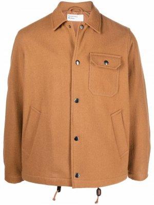 Chest flap-pocket jacket Universal Works. Цвет: коричневый