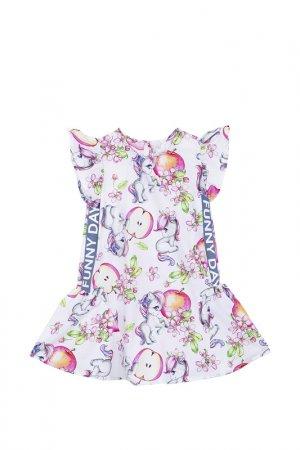 Платье Bell Bimbo. Цвет: набивной