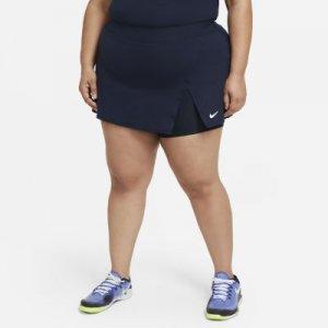 Теннисная юбка NikeCourt Victory (большие размеры) - Синий