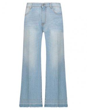 Джинсовые брюки B.YU. Цвет: синий