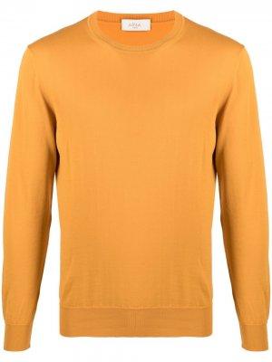 Джемпер с круглым вырезом Altea. Цвет: оранжевый