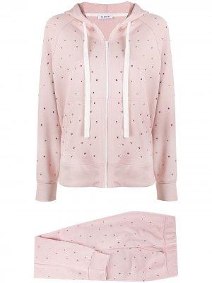 Спортивный костюм со стразами P.A.R.O.S.H.. Цвет: розовый