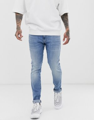 Светлые джинсы скинни -Голубой G-Star