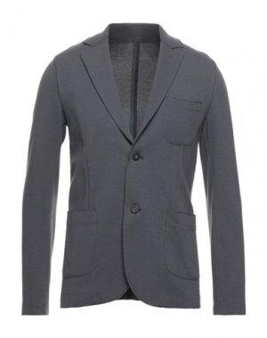 Пиджак ORIGINAL VINTAGE STYLE. Цвет: свинцово-серый