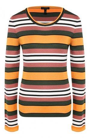 Пуловер из вискозы Escada. Цвет: разноцветный
