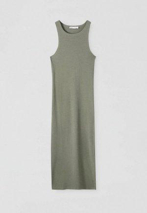 Платье Pull&Bear. Цвет: хаки