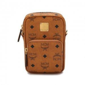 Сумка-планшет MCM. Цвет: коричневый