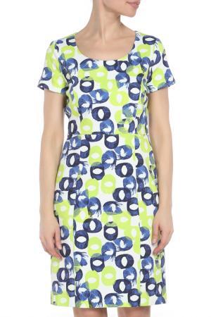 Платье Marc Aurel. Цвет: зеленый