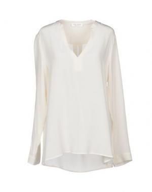 Блузка HOLLY GOLIGHTLY. Цвет: слоновая кость