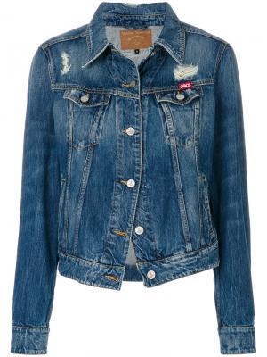 Джинсовая куртка Weave Vivienne Westwood Anglomania. Цвет: синий