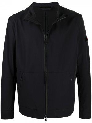 Куртка на молнии Peuterey. Цвет: черный