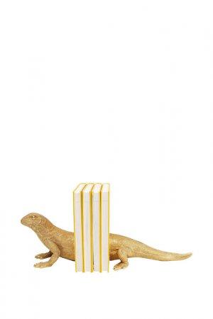 Книгодержатель Lizard Kare. Цвет: золотой