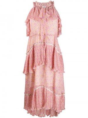 Платье Romina Antik Batik. Цвет: розовый