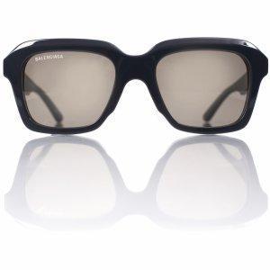 Солнцезащитные очки с серой оправой Balenciaga