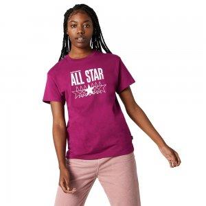 All Star Relaxed Tee Converse. Цвет: бордовый