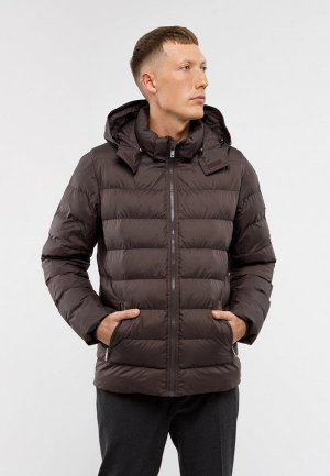 Куртка утепленная Matinique. Цвет: коричневый