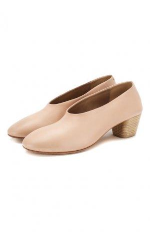 Кожаные туфли Marsell. Цвет: розовый