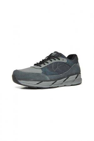 Кроссовки Ascot. Цвет: navy, grey, синий, серый