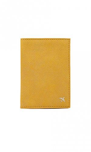 Обложка для паспорта BEIS. Цвет: yellow