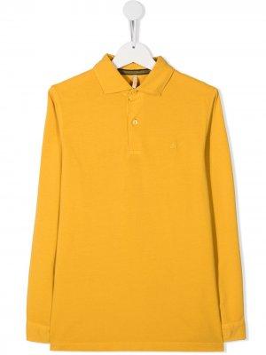 Рубашка поло Sun 68. Цвет: желтый