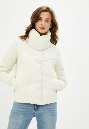 Куртка утепленная Mamma Mia. Цвет: белый