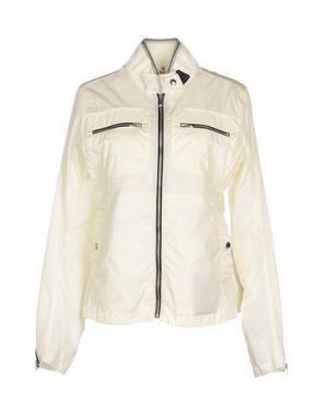 Куртка HOGAN. Цвет: слоновая кость